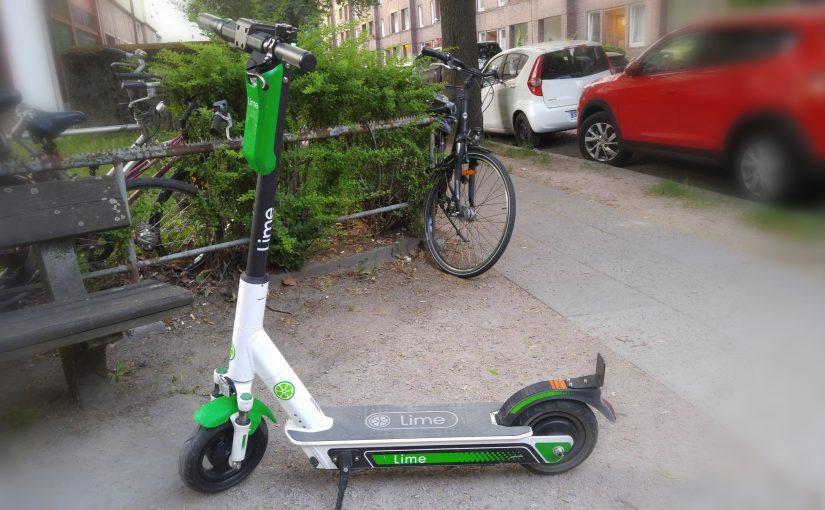 Ein weiterer Tag mit eScootern in Hamburg